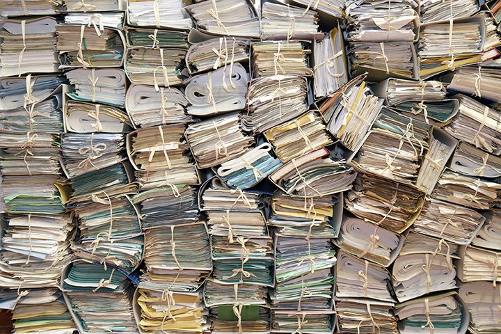 Long-term document storage challenges